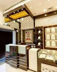 Best Jewellery Shops Interiors Jewellery Showroom