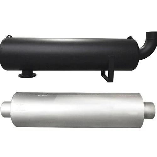 industrial diesel generator exhaust silencer