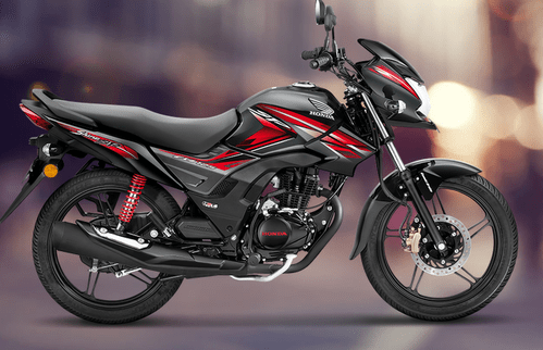 Black Honda Cb Shine Sp Bike 125 Drum