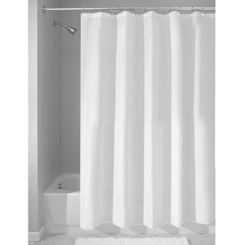 cotton satin stripe shower curtain