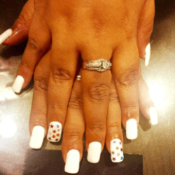 Simple And Elegant Nail Art