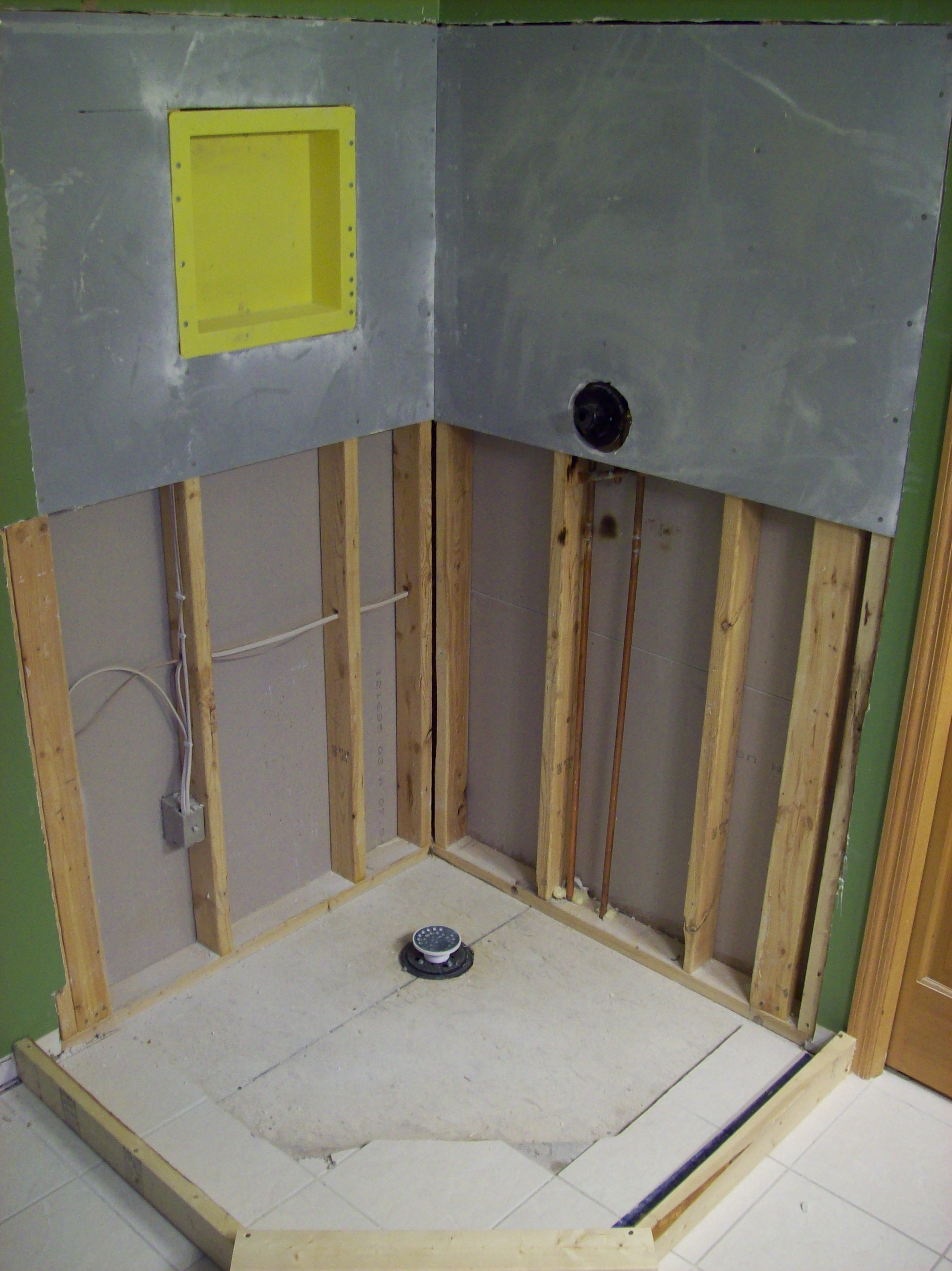 Tile Shower Pan Installation Step By Step Touchdown Tile