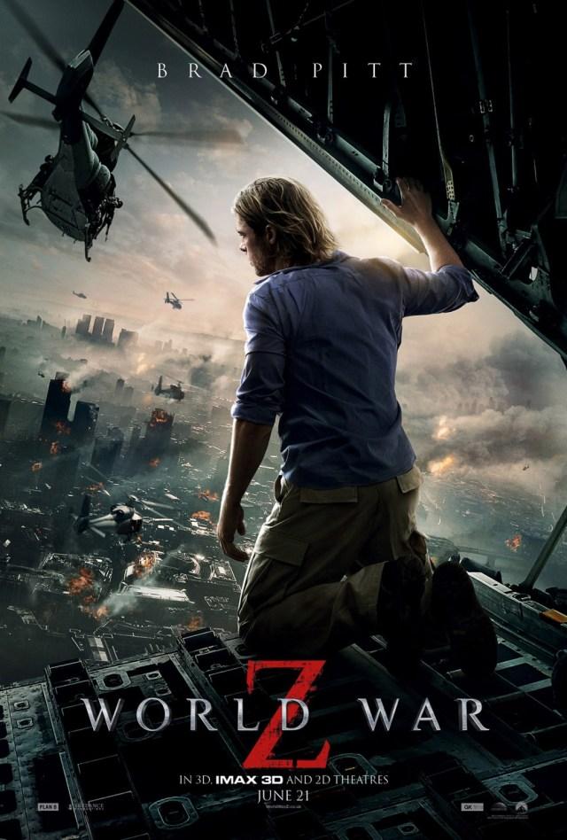 "Plakat filmu ""World War Z"" z 2013 roku"