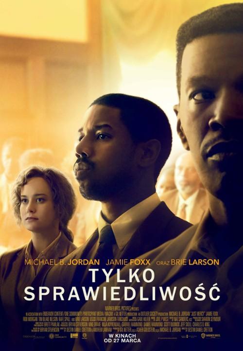 Plakat filmu Tylko sprawiedliwość (2020)