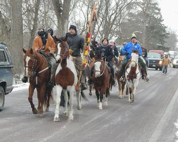 Remembrance, reconciliation are focus of Dakota 38+2 Riders