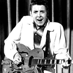 "Eddie Cochran performing ""Twenty Flight Rock"""