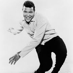 Chubby Checker dancing the Twist