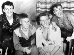 Gene Vincent, Joe Brown, Billy Fury and Eddie Cochran
