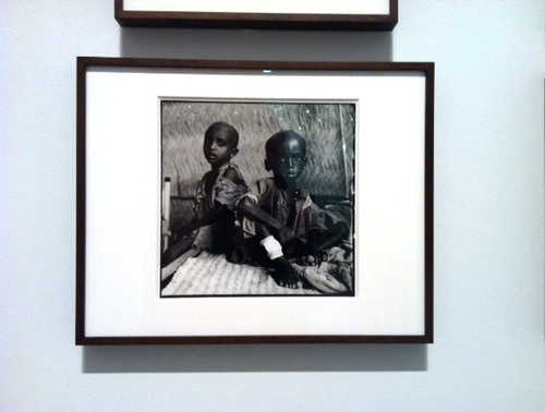 One of David Bailey's photos in Sudan.