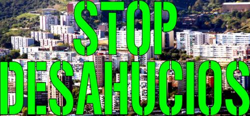 stop desahucios en ciutat meridiana