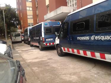 desahucio policial en c.meridiana