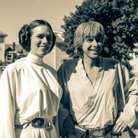 Rebel Legion Leia and Luke