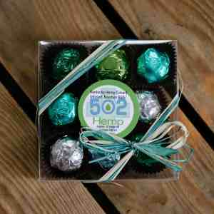 502 Hemp – Kentucky Hemp Infused Bourbon Balls