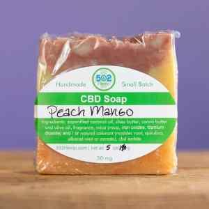 502 Hemp CBD Soap