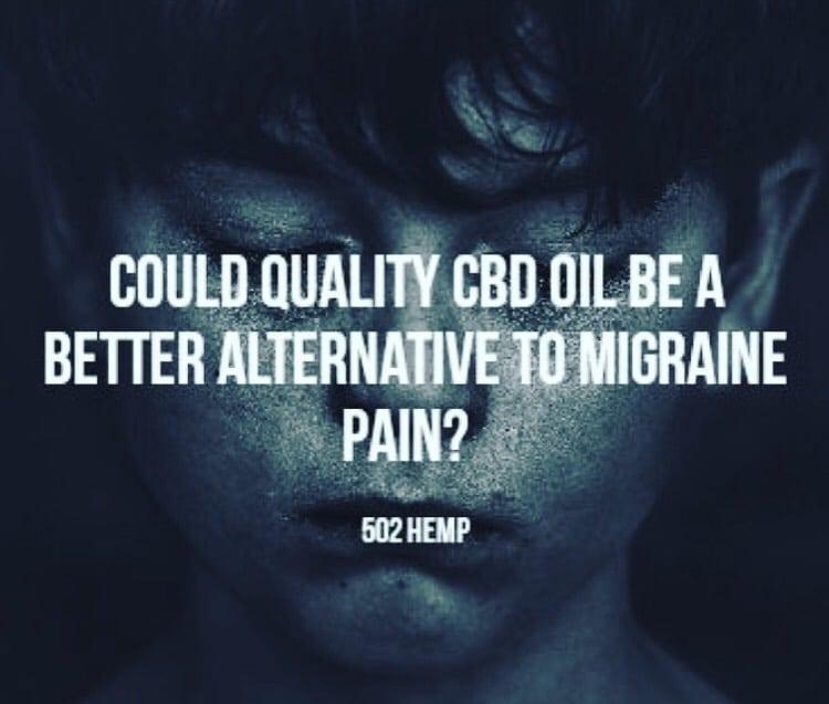 CBD oil and migraine