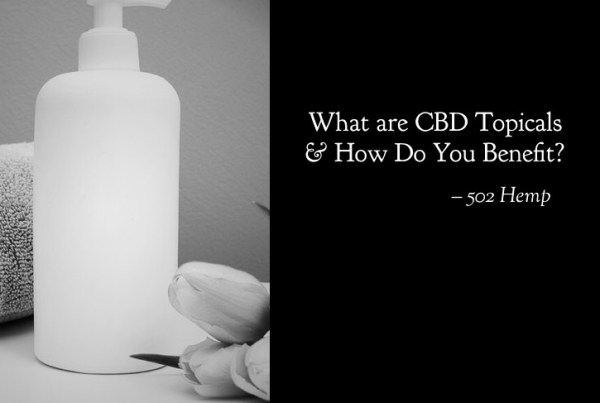 What are CBD Topicals