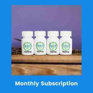 502 Hemp Hemp Extract CBD Capsules- Monthly Subscription