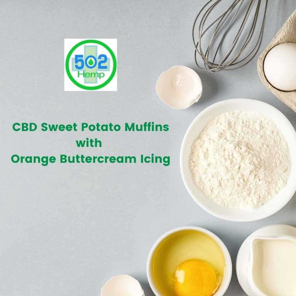 CBD Sweet Potato Muffins