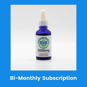 Clinical Strength 3000 mg CBD Bi Monthly Subscription