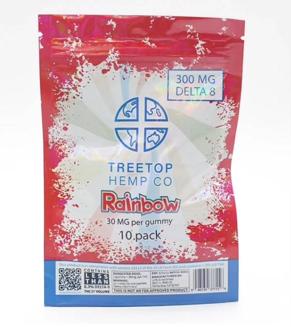 Delta 8 Rainbow 10 pack