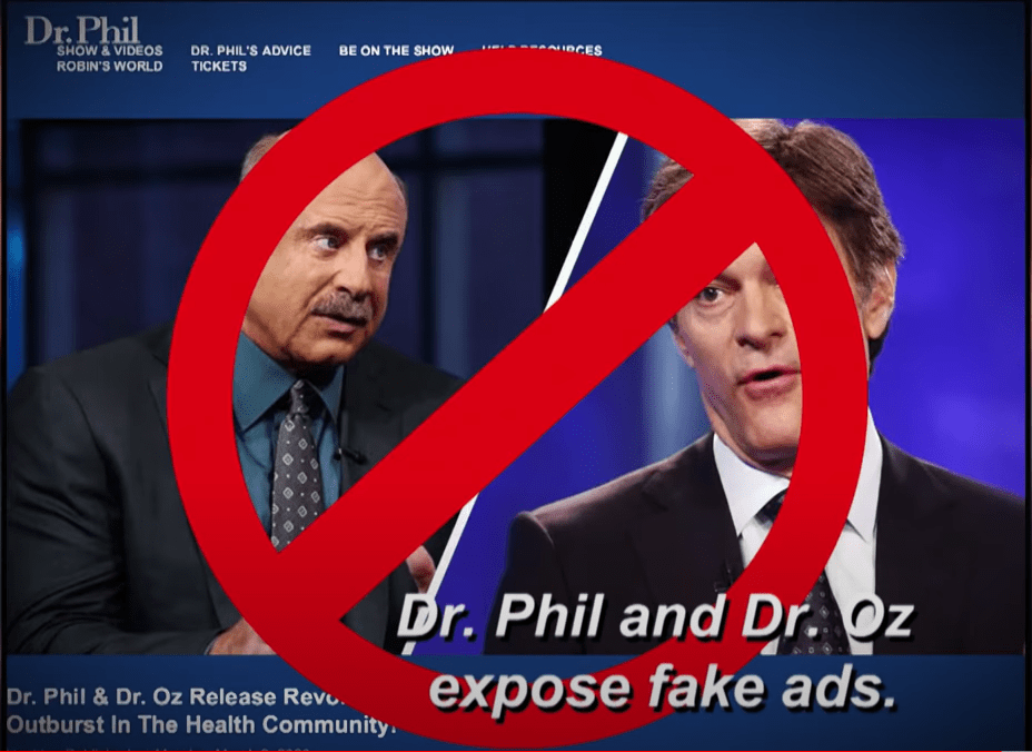 Dr Oz and Phil Speak Out