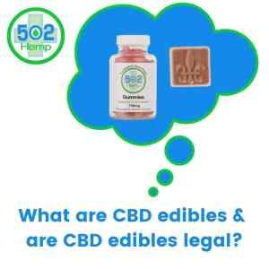 CBD edibles legal