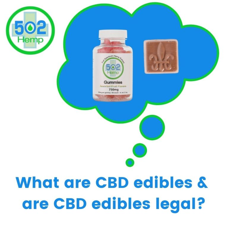 What are CBD Edibles and are CBD edibles legal?