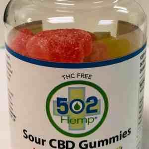 750mg THCF 30 Ct Gummies 502 Hemp