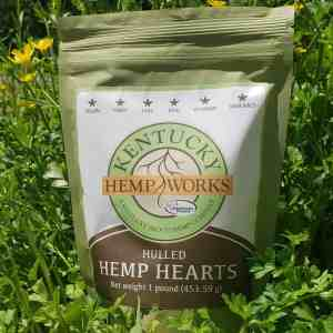 Kentucky Hemp Works Hulled Hemp Hearts 1lb
