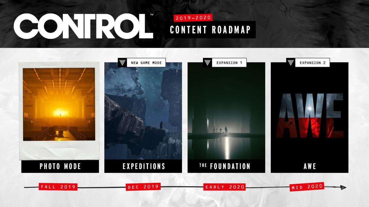Roteiro de controle detalhado, com um DLC relacionado a Alan Wake