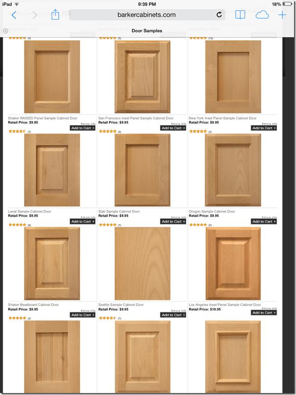 Beau Door Styles Barker Cabinetu0027s ...