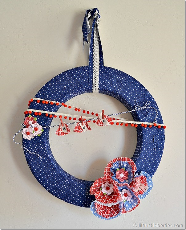 Memorial Day wreath: How to make a Wreath