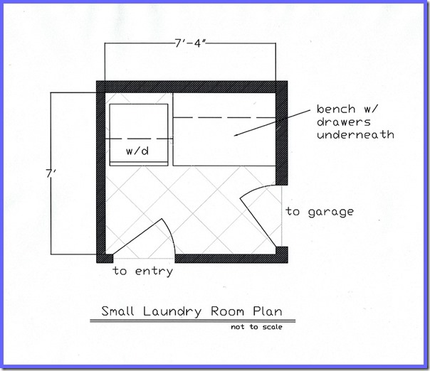 Laundry Floor Plan