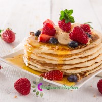 #122. My Simple Banana Pancake Recipe- Christiana Stephen