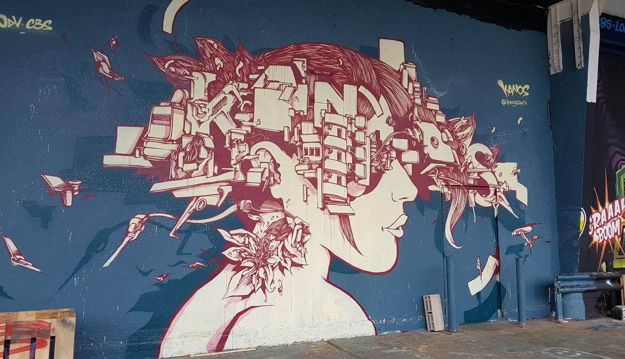 L'aerosol street-art tribulations d'une quinqua