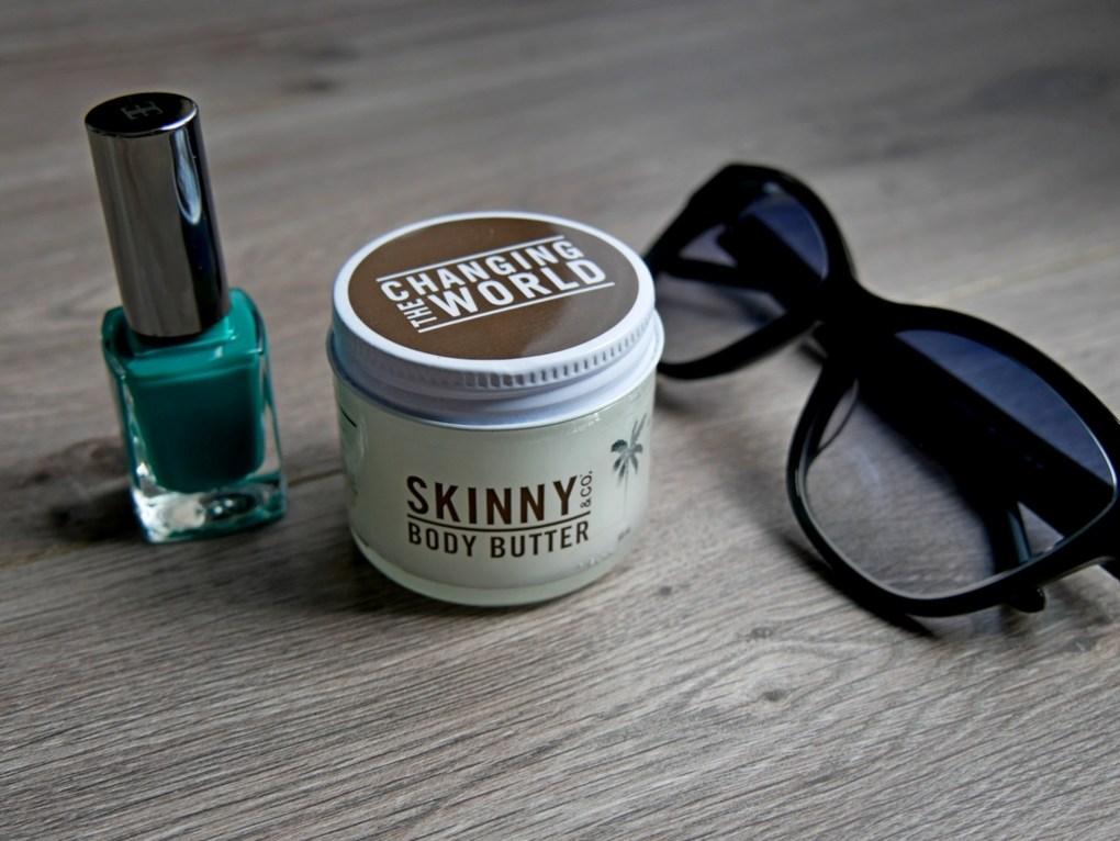 Skinny body butter, l'huile de coco pour le corps.