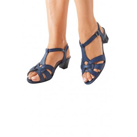 sandales bleu bonheur