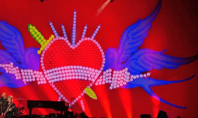 concert Paul Mac Cartney Fresh tour La Défense U arena Paris