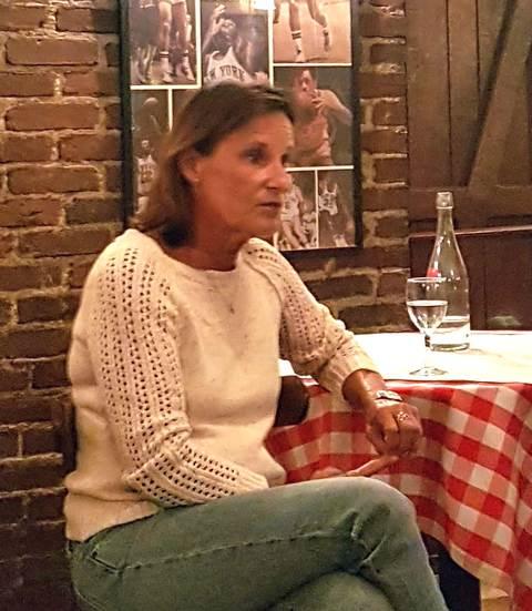 l'americaine de catherine Bardon éditions les escales