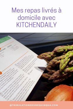 Kitchendaily des repas équilibrés livrés à domicile
