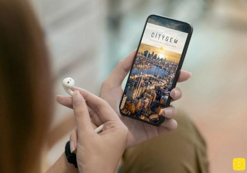 CityGem application gratuite pour les flaneries urbaines