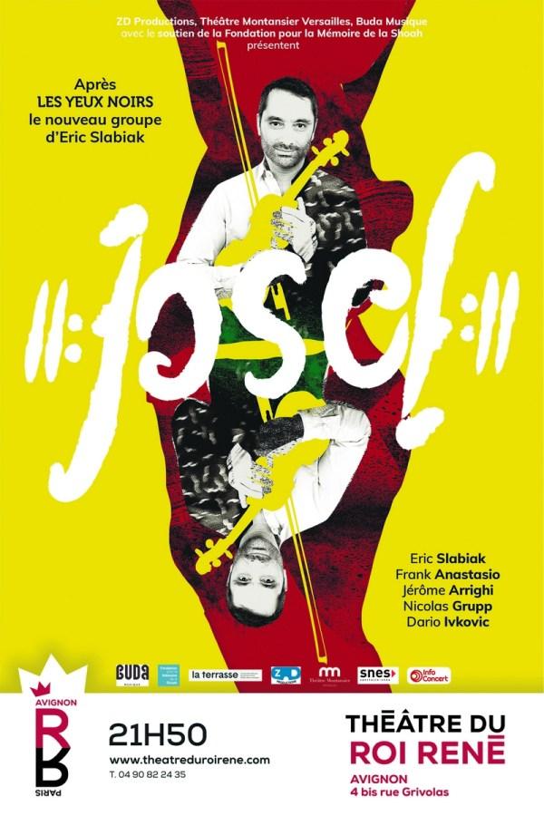 Josef Josef affiche avignon 2021