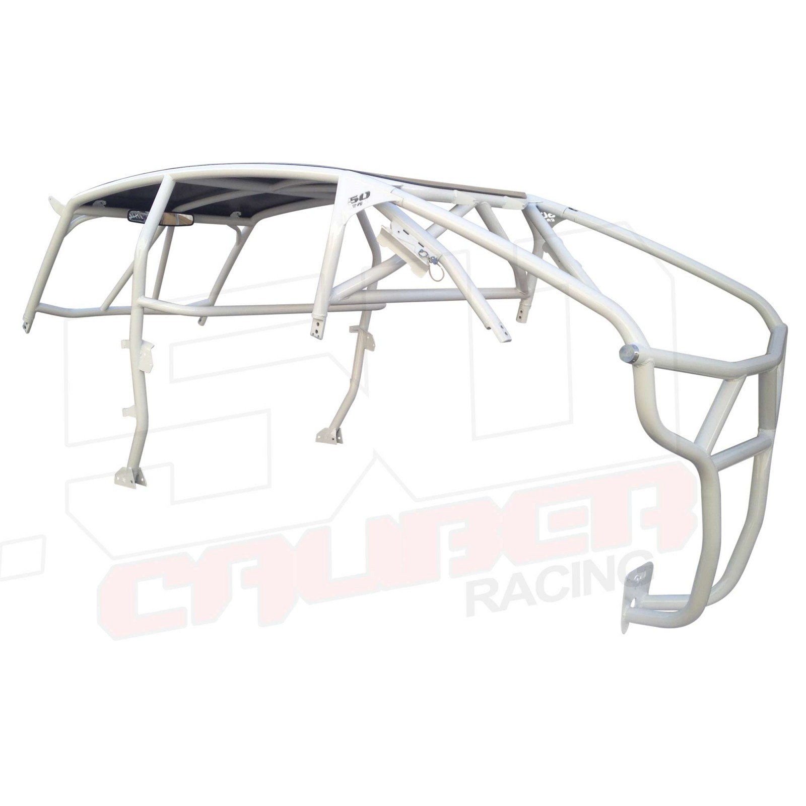 Polaris Rzr4 Xp Roll Cage With Radius Bends And