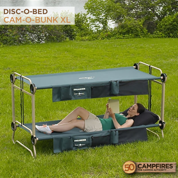 Best Camping Bunk Bed Cots Large Disc O Cam