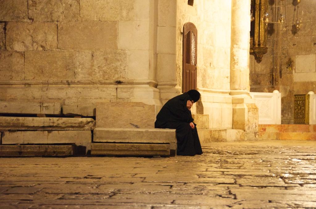 pilgrim resting