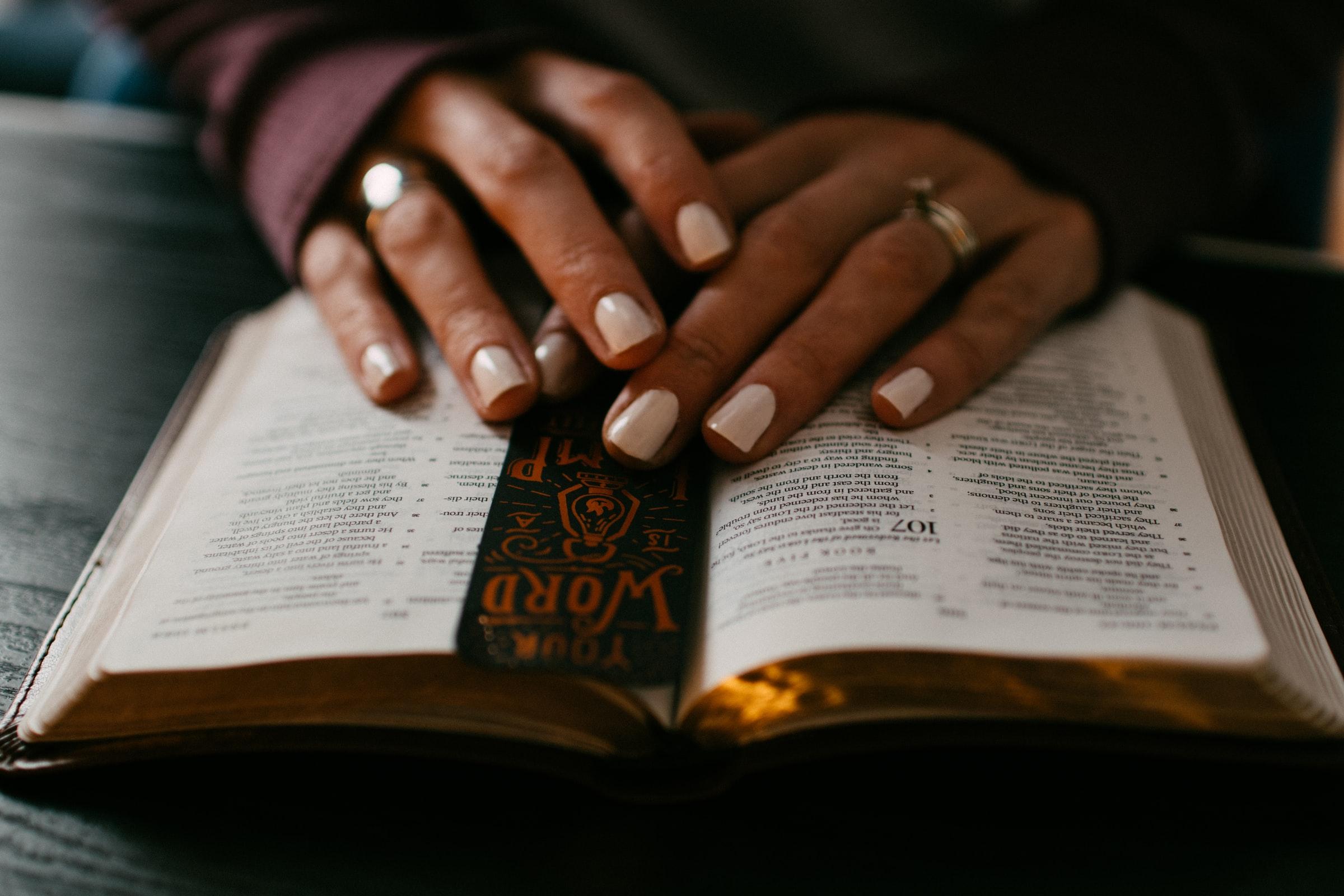 prayer with bible