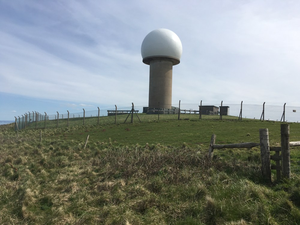 Hartland Point toadstool radar station
