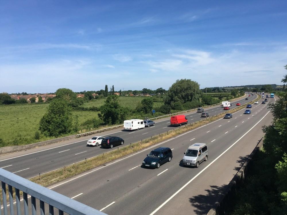 M5 crossing, LEJoG Day 20