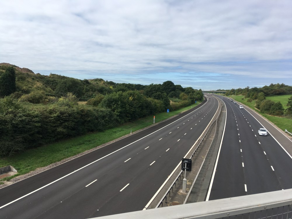 M6 Toll crossing, LEJoG Day 34