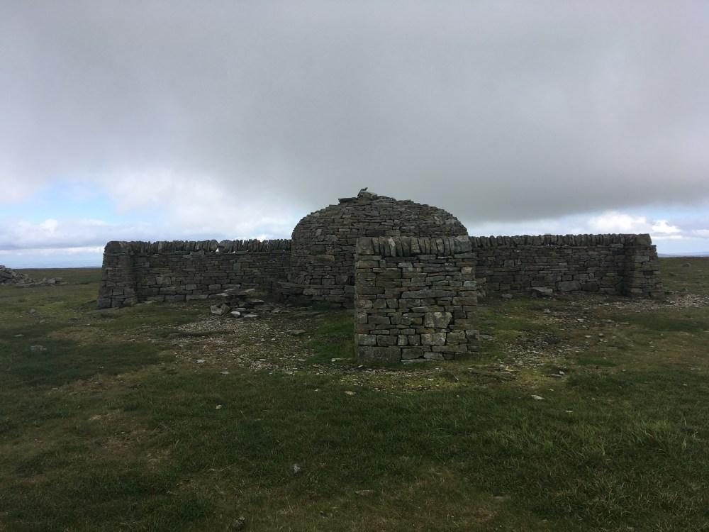 Cross Fell shelter, LEJoG Day 52